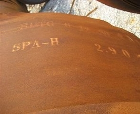 Trung Quốc SPA-H Weathering Alloy Steel Plate / Coil for Container , Corten Steel Plate nhà cung cấp