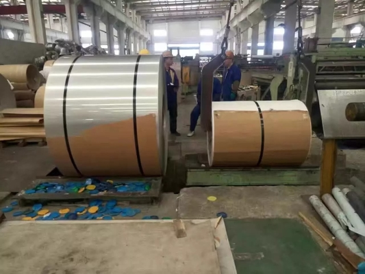 Trung Quốc Hot Rolled And Cold Rolled Stainless Steel Coils 304 301 201 316L 409L 430 nhà cung cấp
