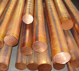 Trung Quốc Red copper solid round bar / red copper bar dia 10 - 100mm C11000 C10200 nhà cung cấp