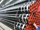 Trung Quốc API 5L Astm A53 A106 Seamless Steel Pipe With Black Coating Bevelled End And Caps Công ty