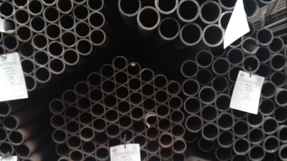 ERW Q195 Q235B  Black Welded Round Steel Pipe for Furniture Pipe Carbon Mild Steel Pipes