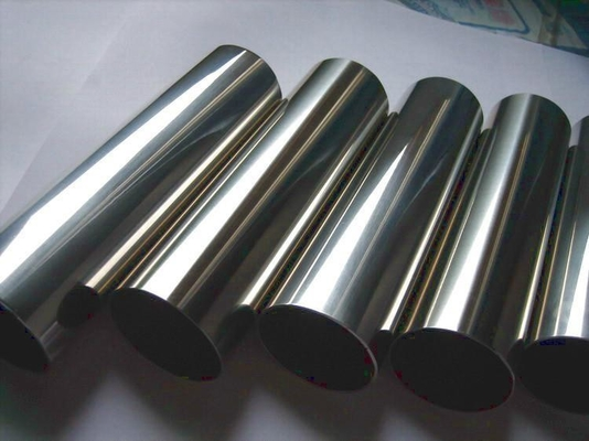 Trung Quốc TP304 Stainless Steel Welded Tube With  Mirror Polish Surface A554 Outside180grits nhà máy sản xuất