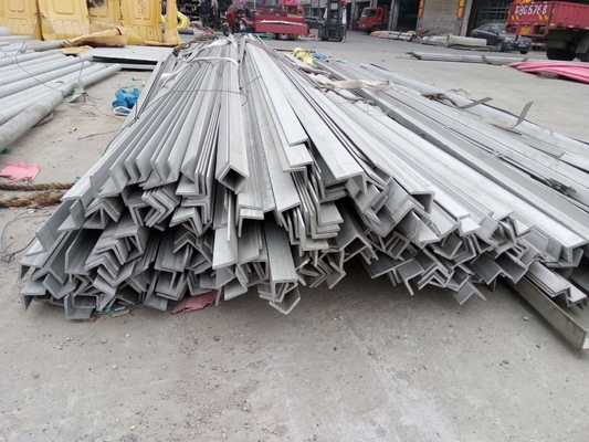 ASTM 201 202 304 316 60*60*4 Stainless Steel Angle Bar / Equal Angel Bar For Building