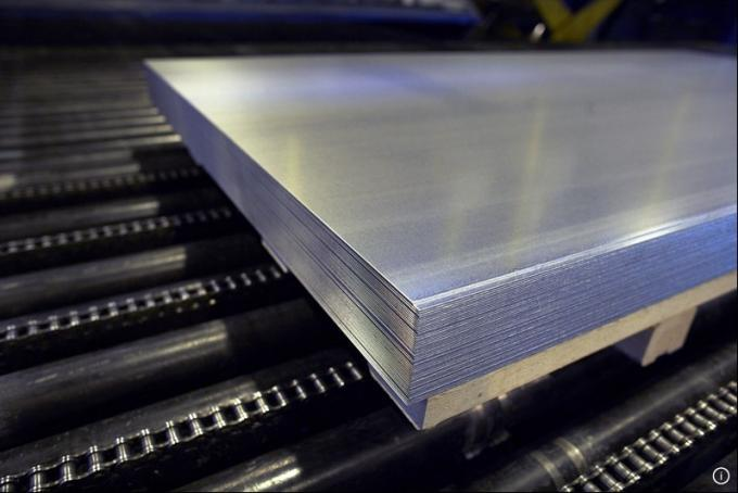 INOX 304 316L 316LN Stainless Steel Sheet 0.1mm Thick Steel Sheet
