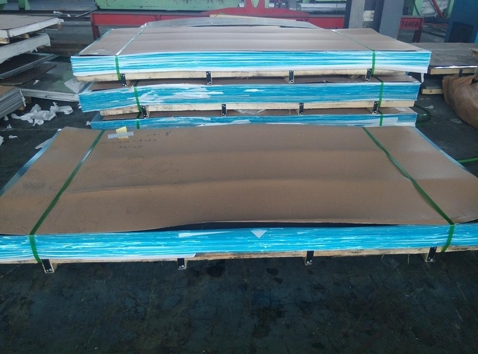 Cold Rolled 304 316L Stainless Steel Sheet / Plate With Thickness 0.4-3.0mm