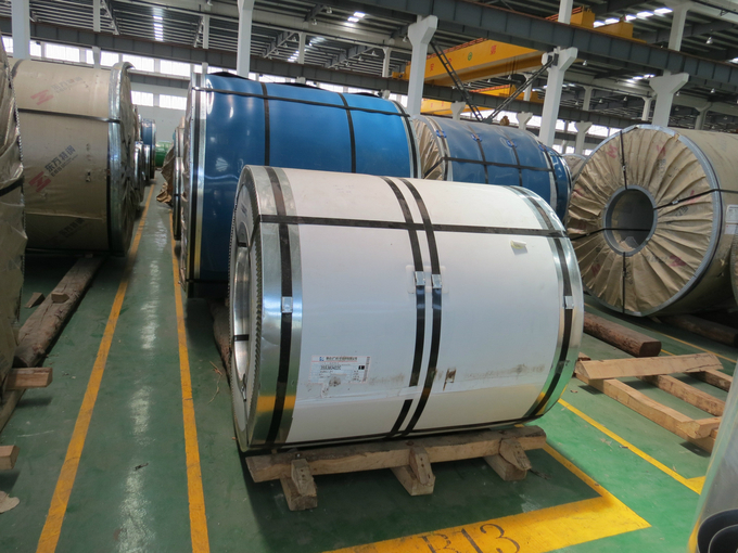 ASTM 2205 Polished Surface Slitting Galvanized Steel Coils CE, ISO, BV